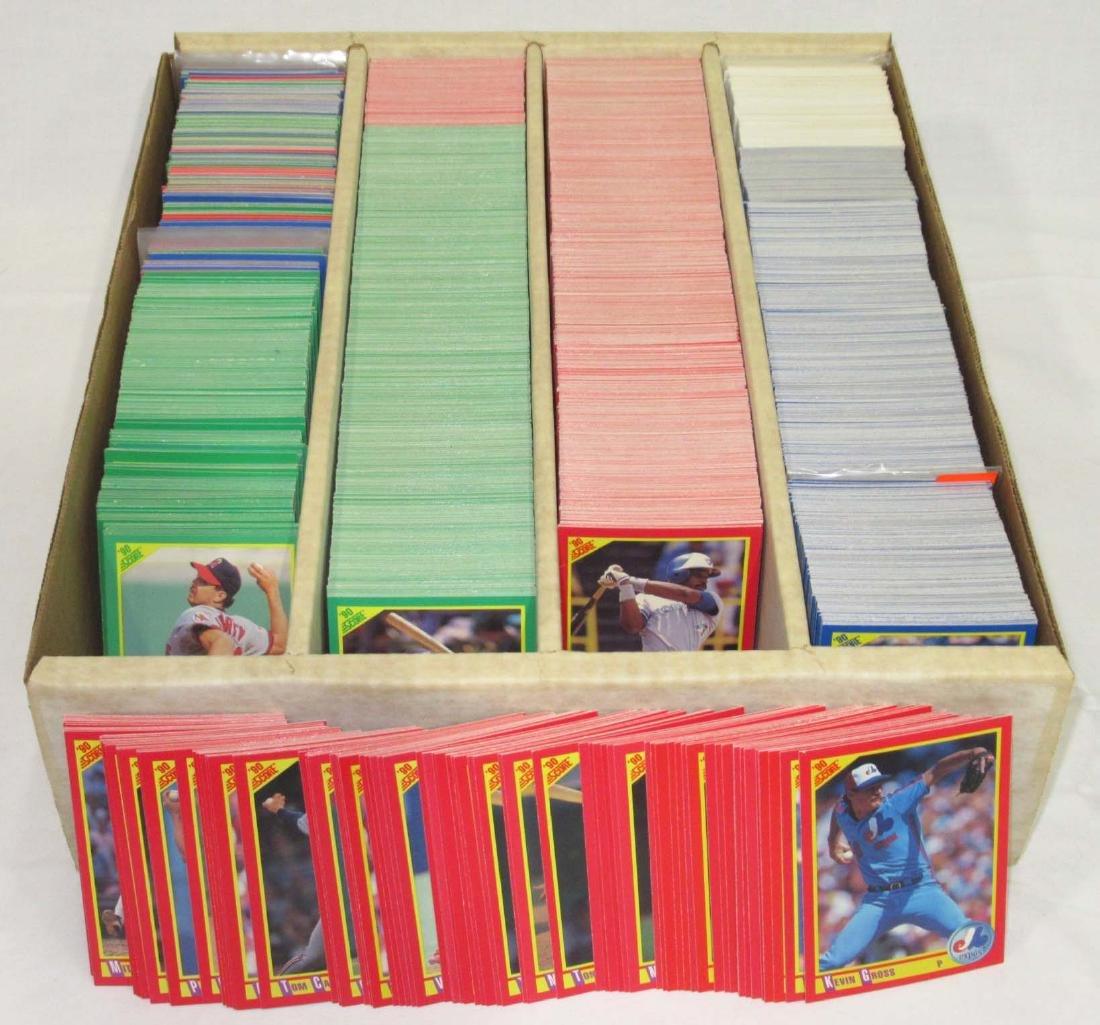 Lg. Lot 1990 Score Baseball Cards