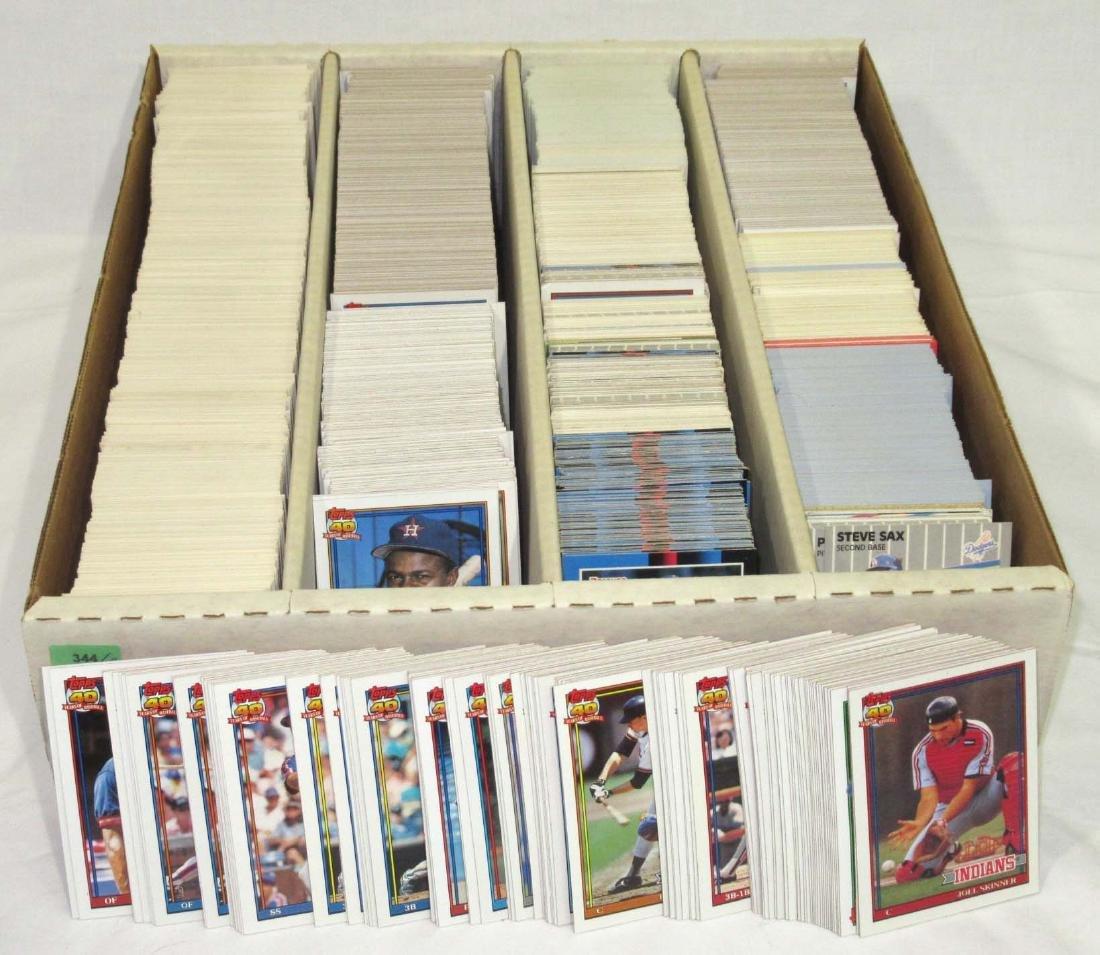 Lg. Lot 1988-91 Baseball Cards