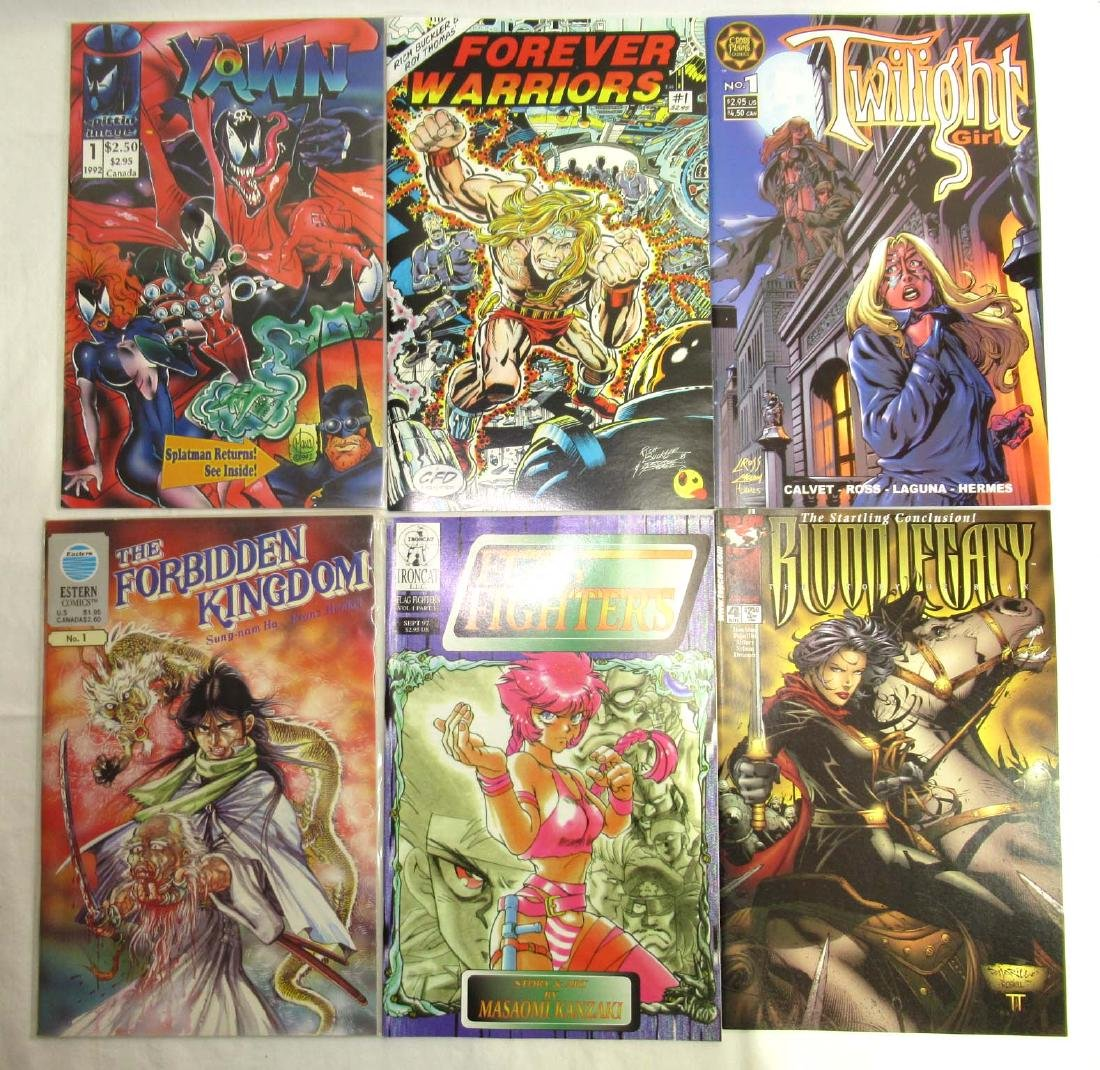 20 Mint Unread Comic Books - 2