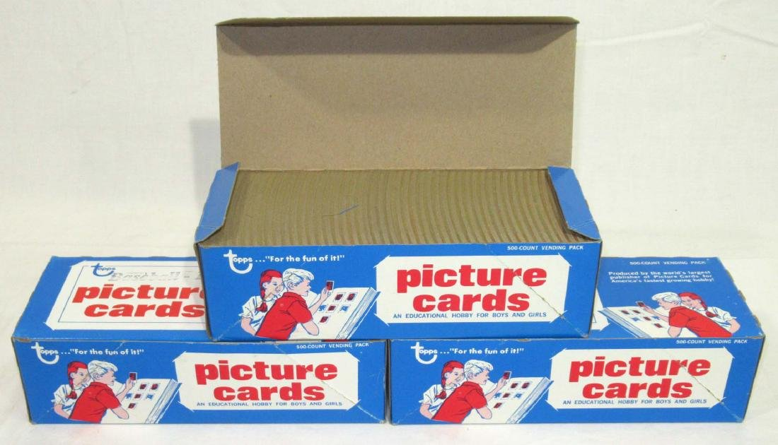 3 Factory Boxes 1990 Baseball Cards