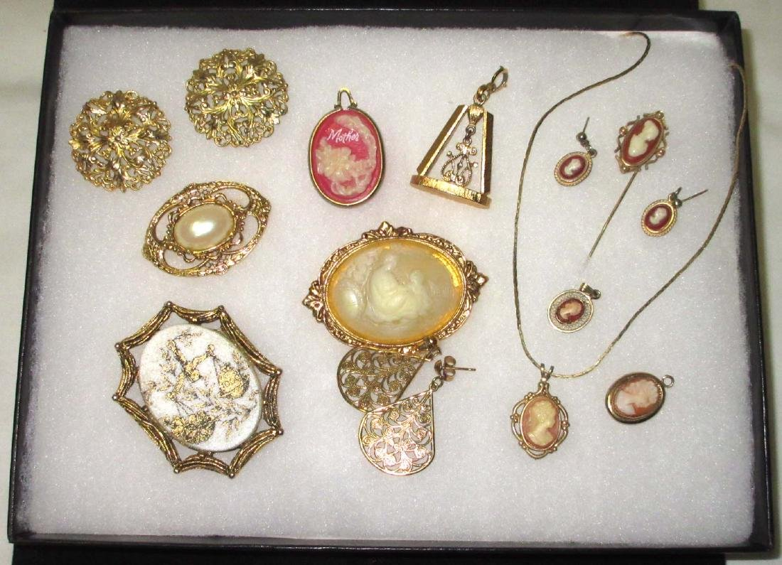 Faux Cameo Jewelry