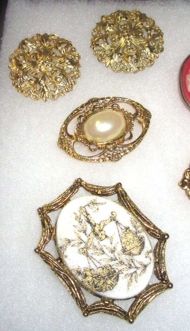 Faux Cameo Jewelry - 2