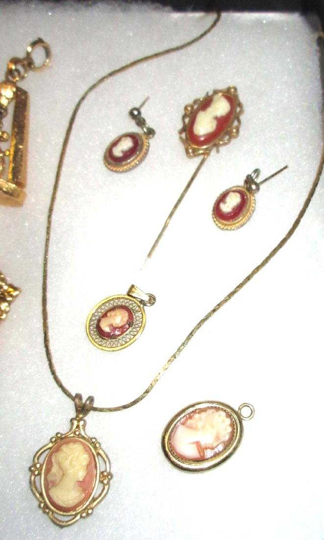 Faux Cameo Jewelry - 4