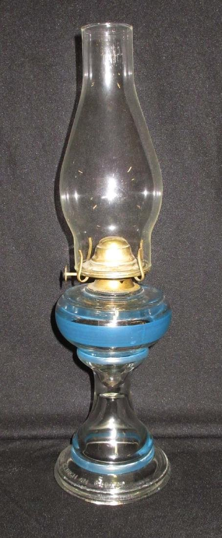 Early H.P. Oil Lamp - 2