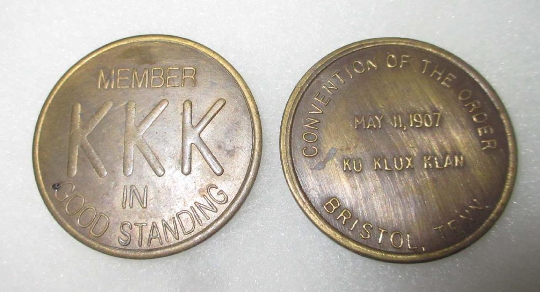 2 Modern KKK Tokens