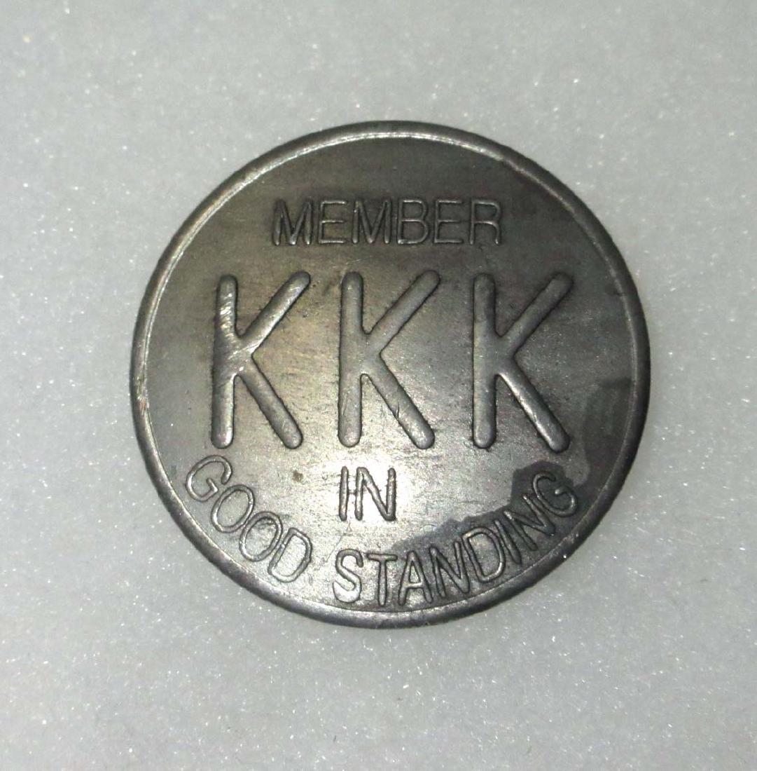 Modern KKK Badge