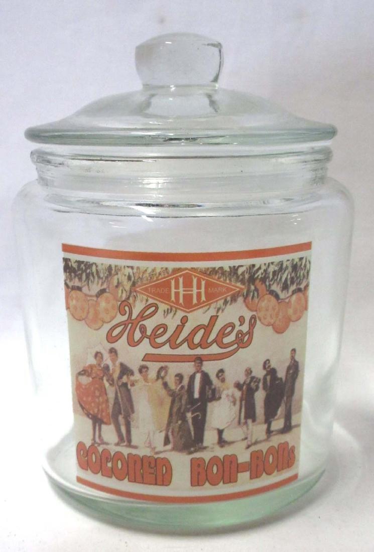 Modern Heidi's Bon-Bons Store jar