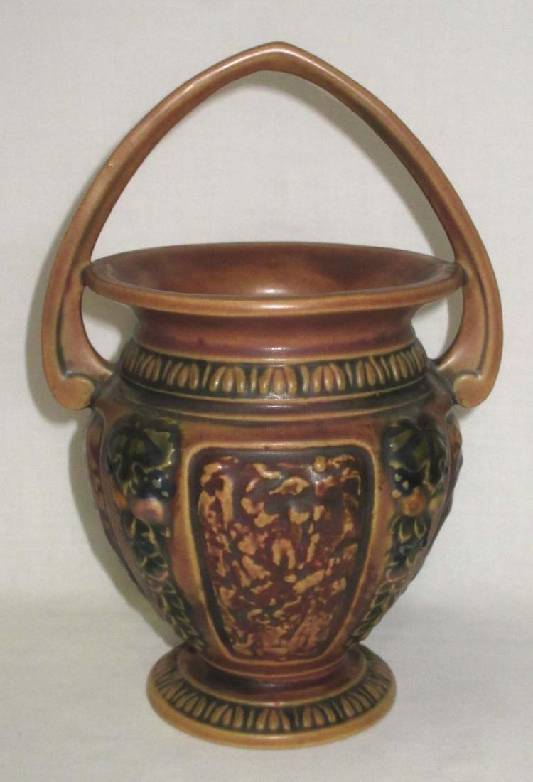 Roseville Pottery Basket
