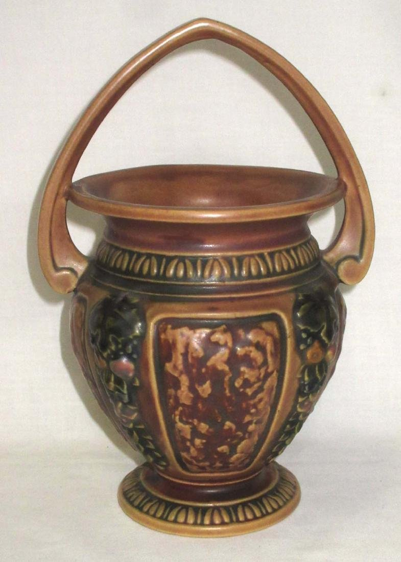 Roseville Pottery Basket - 2