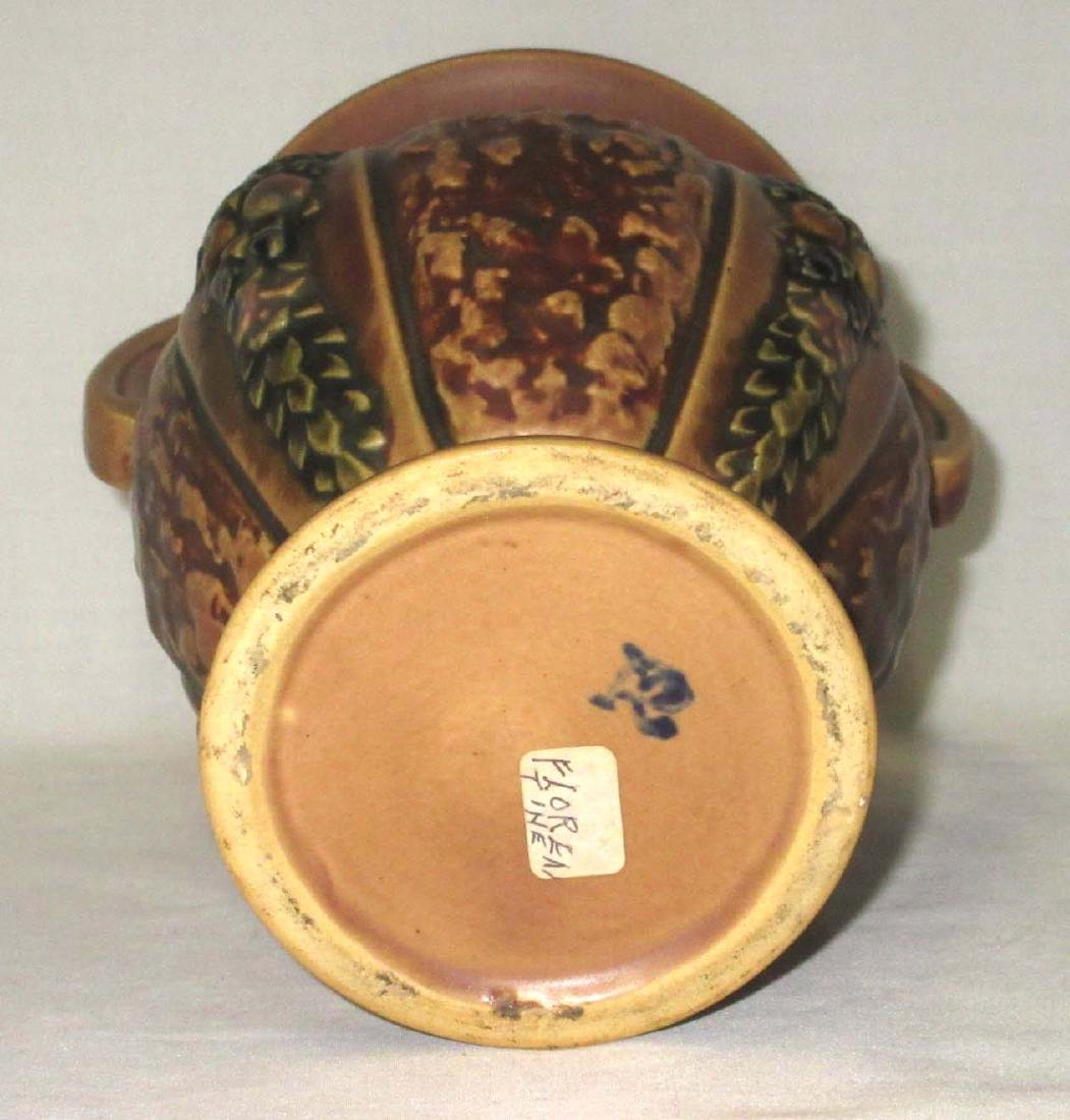 Roseville Pottery Basket - 3