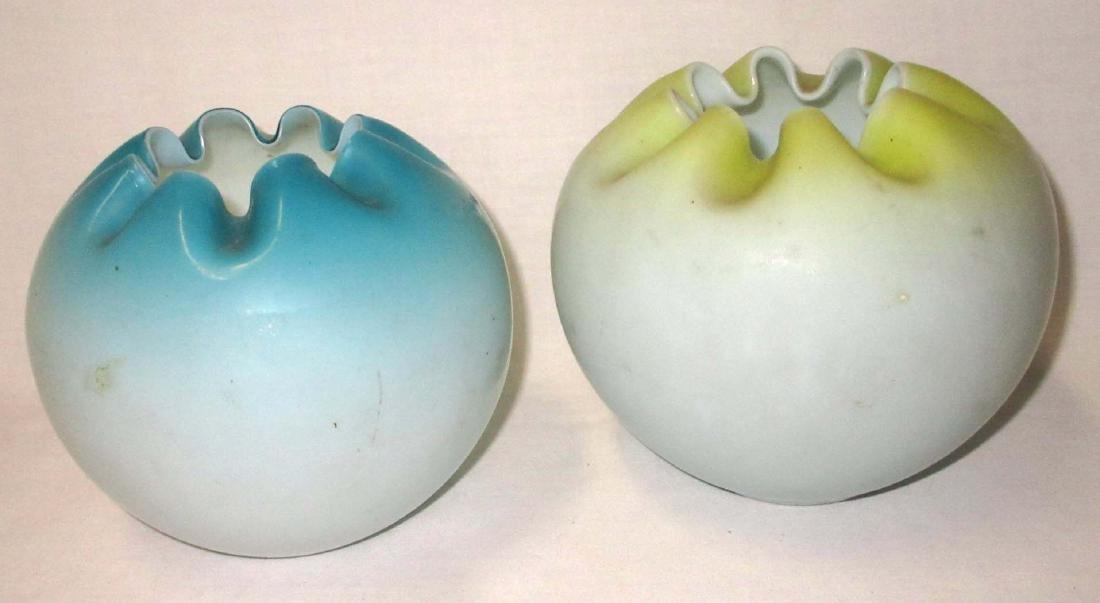 6 Victorian Rosebowls - 2