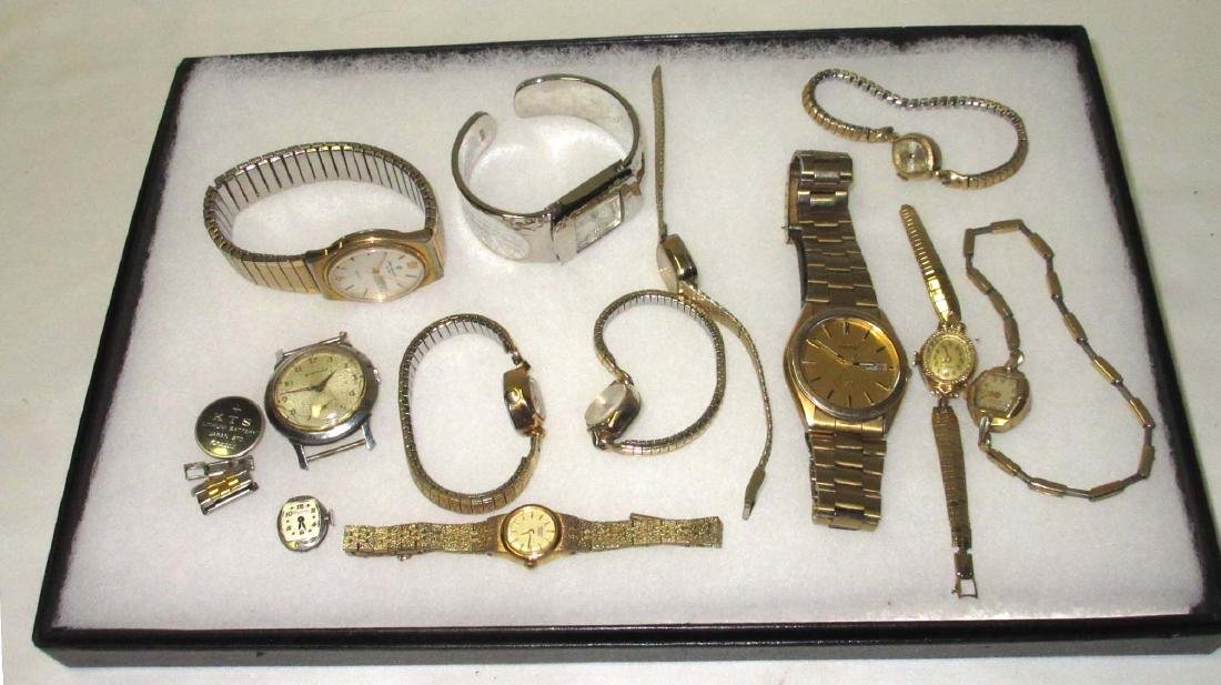 Group of Wristwatches 11 piece