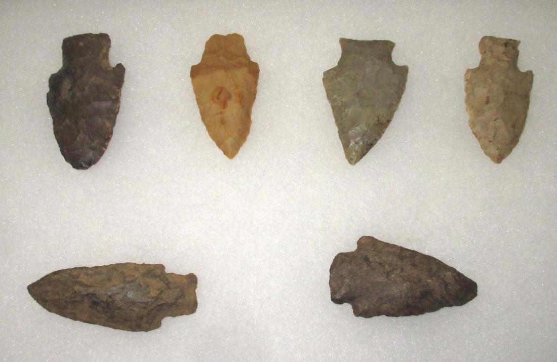 Lot Of Authentic Indian Arrowheads - 2