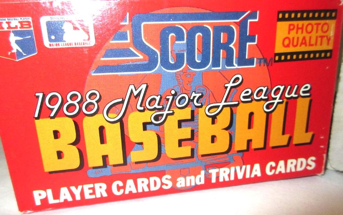 4 Boxes Misc. Baseball Cards - 2