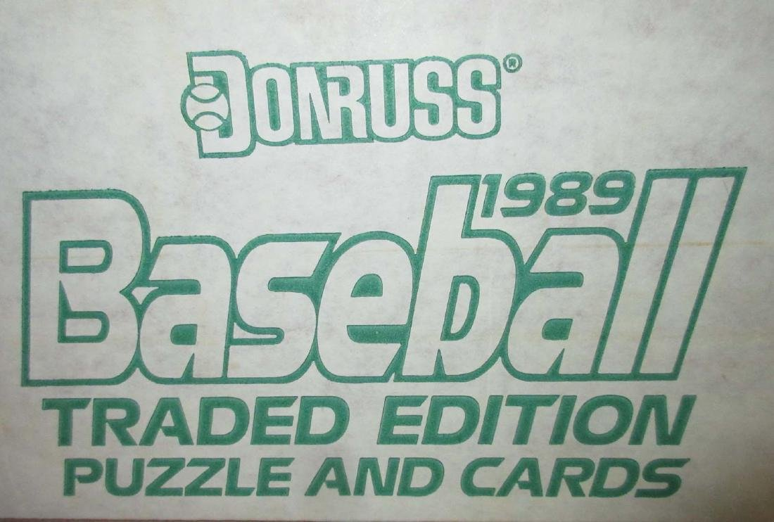 4 Boxes Misc. Baseball Cards - 3