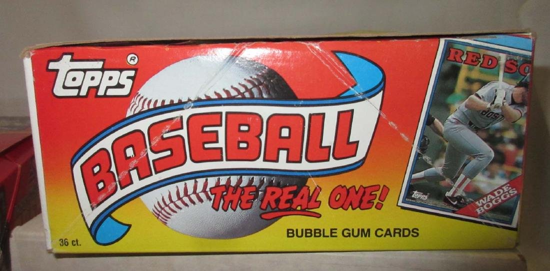 4 Boxes Misc. Baseball Cards - 4