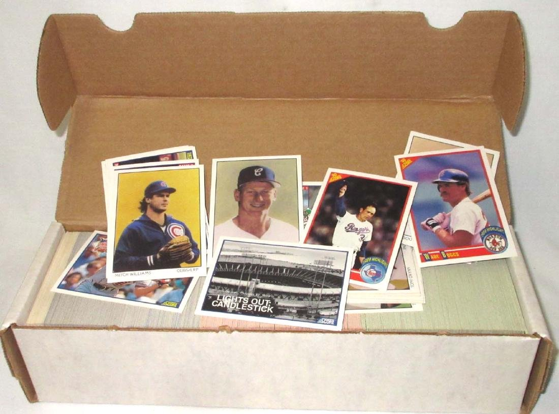 1990 Score Baseball Cards Set