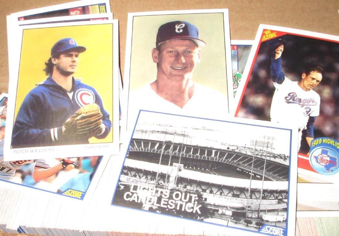 1990 Score Baseball Cards Set - 2