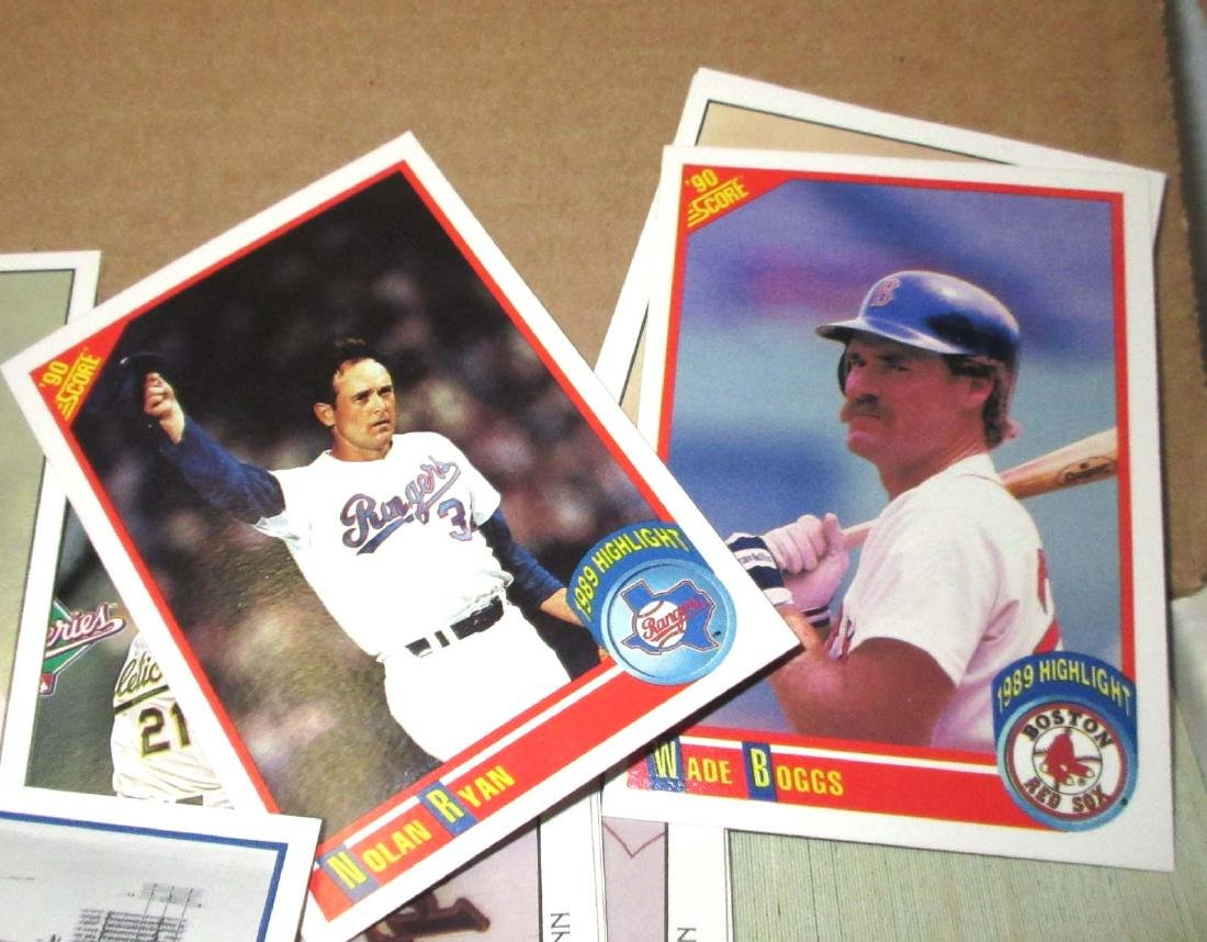 1990 Score Baseball Cards Set - 3