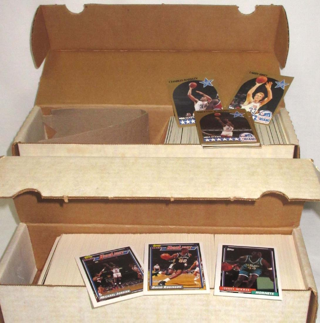 2 Boxes 1990 & 92 Basketball Cards