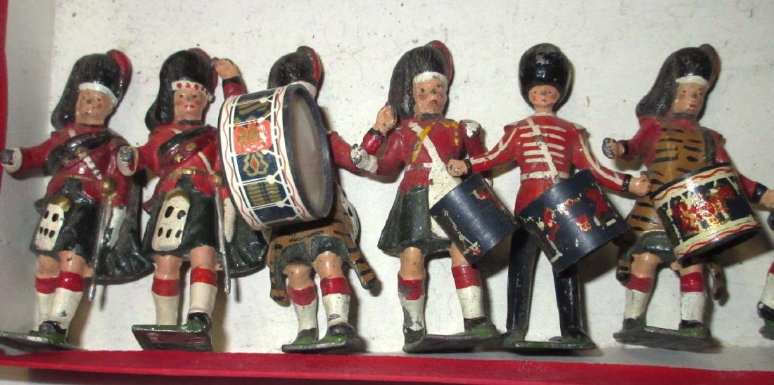 Lot of 15 Scottish Lead Soldiers - 2