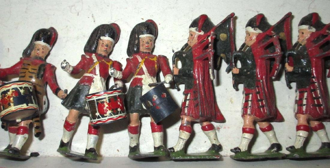 Lot of 15 Scottish Lead Soldiers - 3