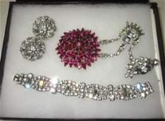 Weiss & Other Quality Rhinestone Jewelry