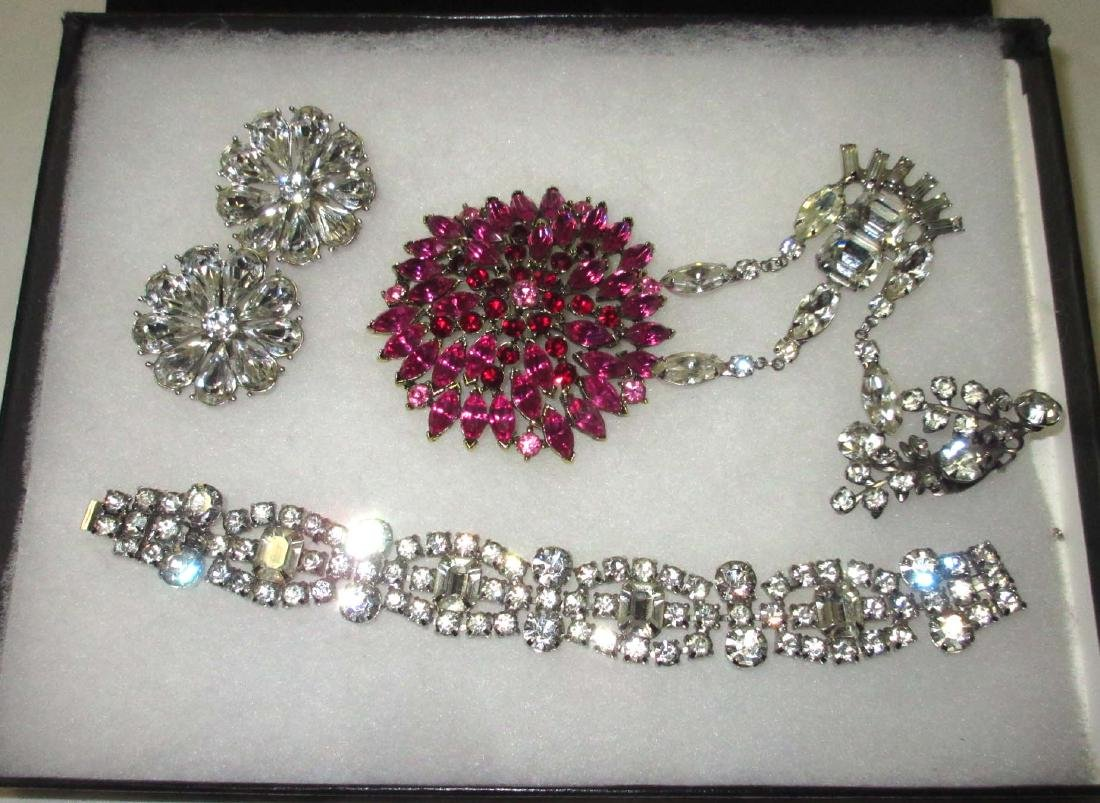Weiss & Other Quality Rhinestone Jewelry