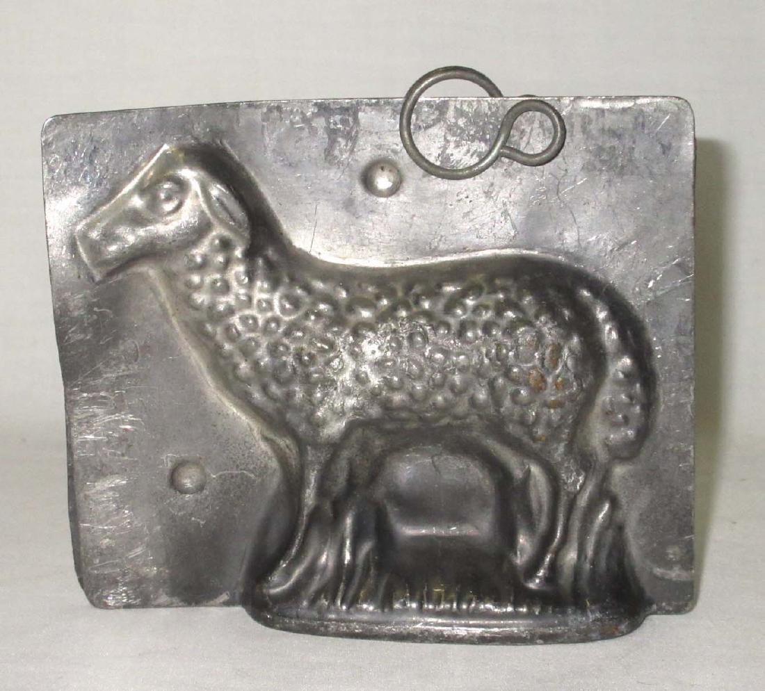 Sheep Tin Chocolate Mold