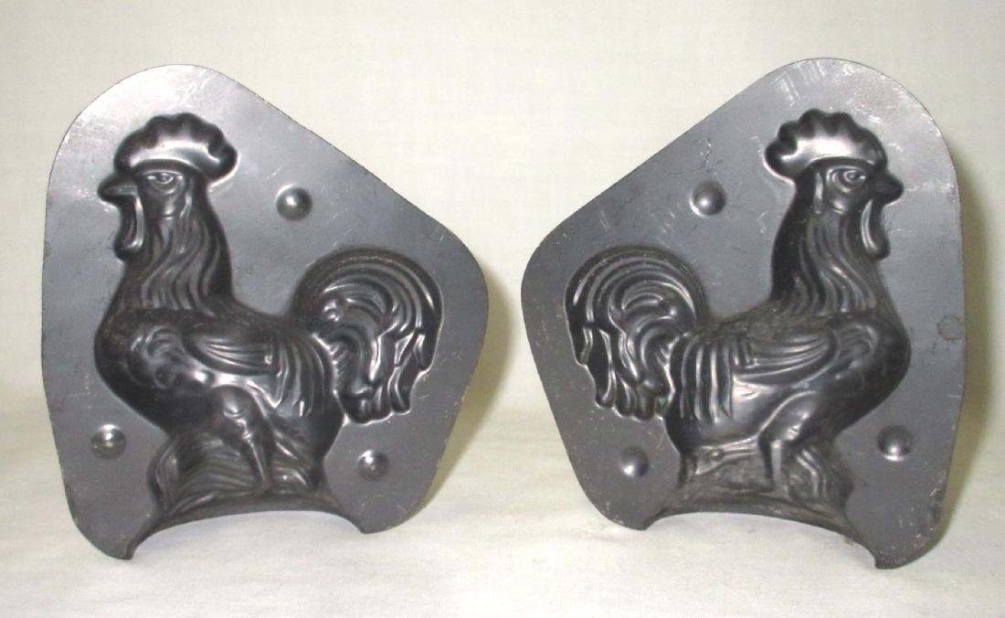 Rooster Tin Chocolate Mold - 2