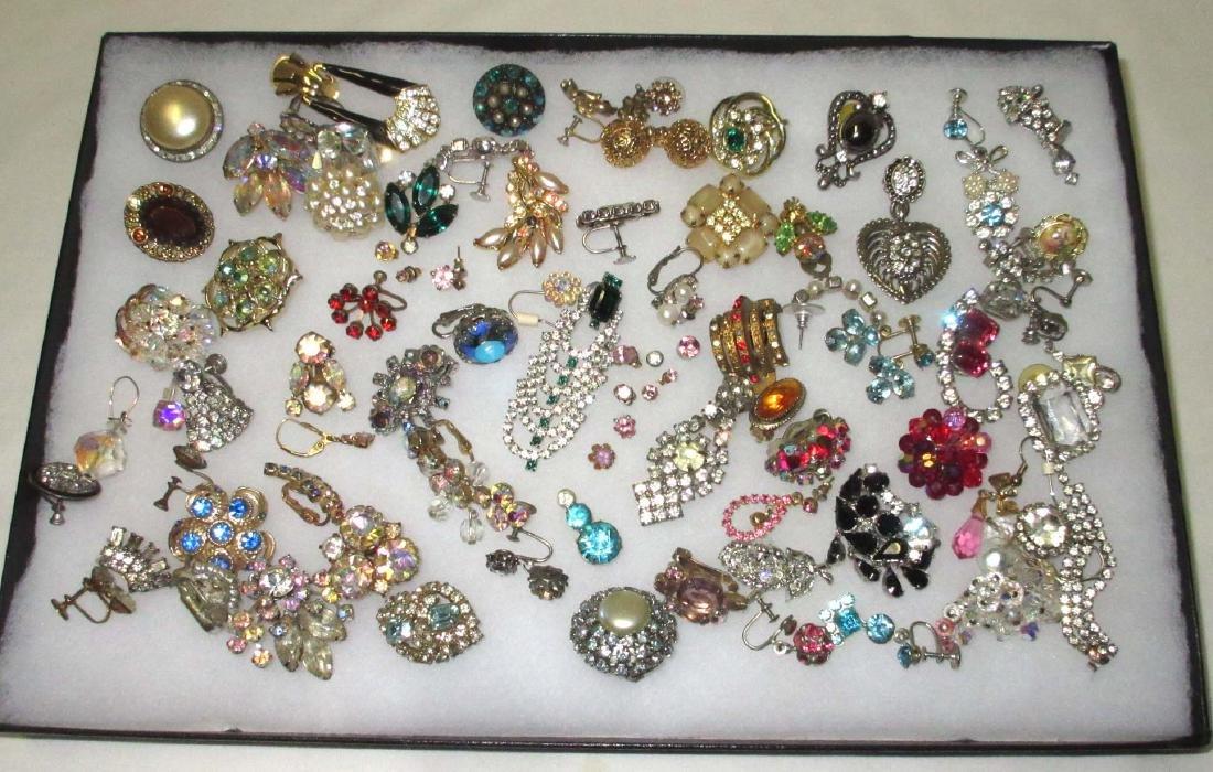 50+ Single Rhinestone Earrings for Harvest