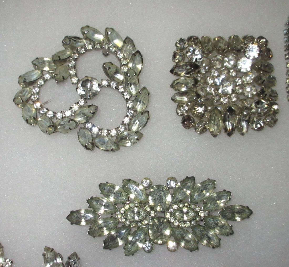 18 piece Fabulous Quality Rhinestone Jewelry - 2