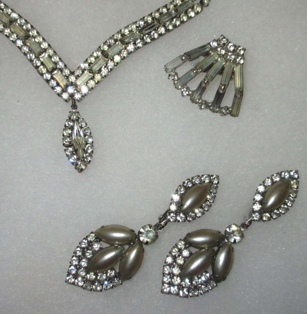 18 piece Fabulous Quality Rhinestone Jewelry - 5