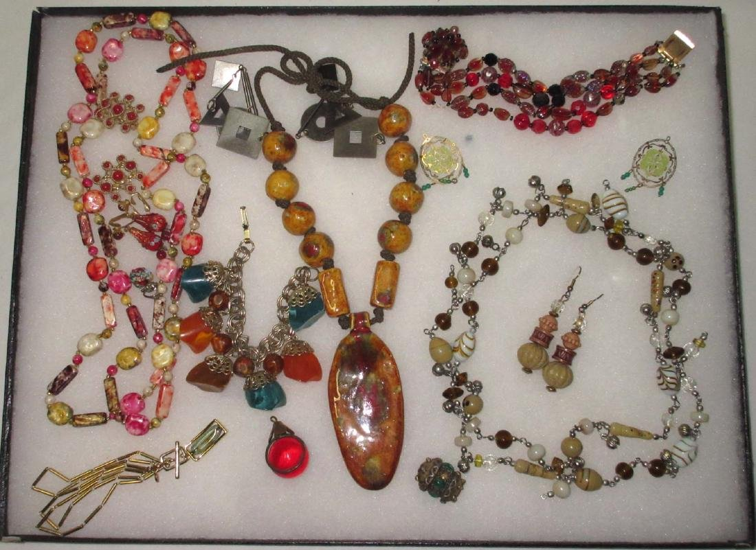 12 piece Fun Ethnic Style Rhinestone Jewelry