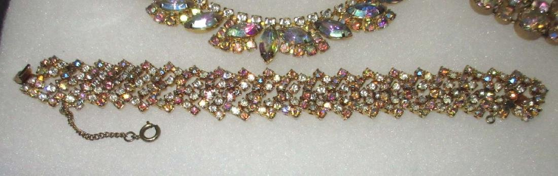 6 piece Quality AB Marquise Rhinestone Jewelry - 4