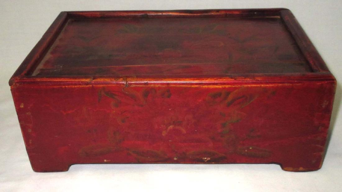H.P. Dovetailed Box w/ Sliding Lid