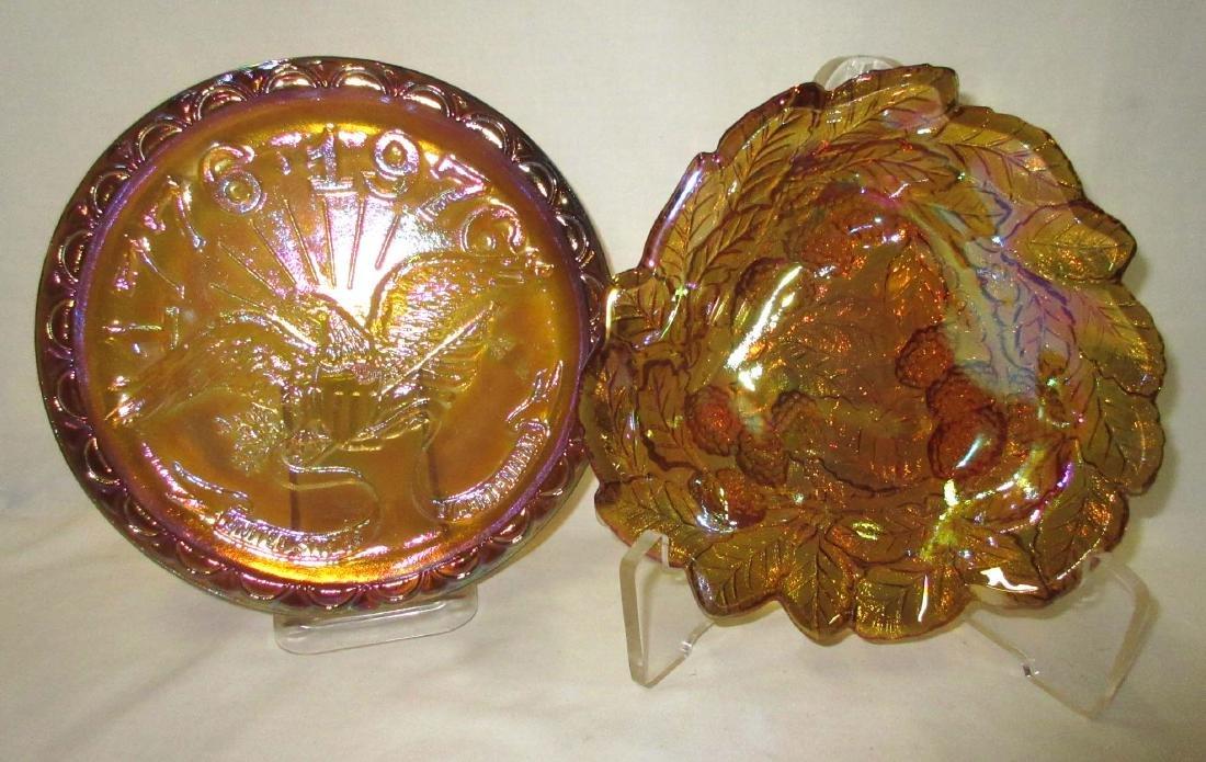 5pc Carnival Glass - 2