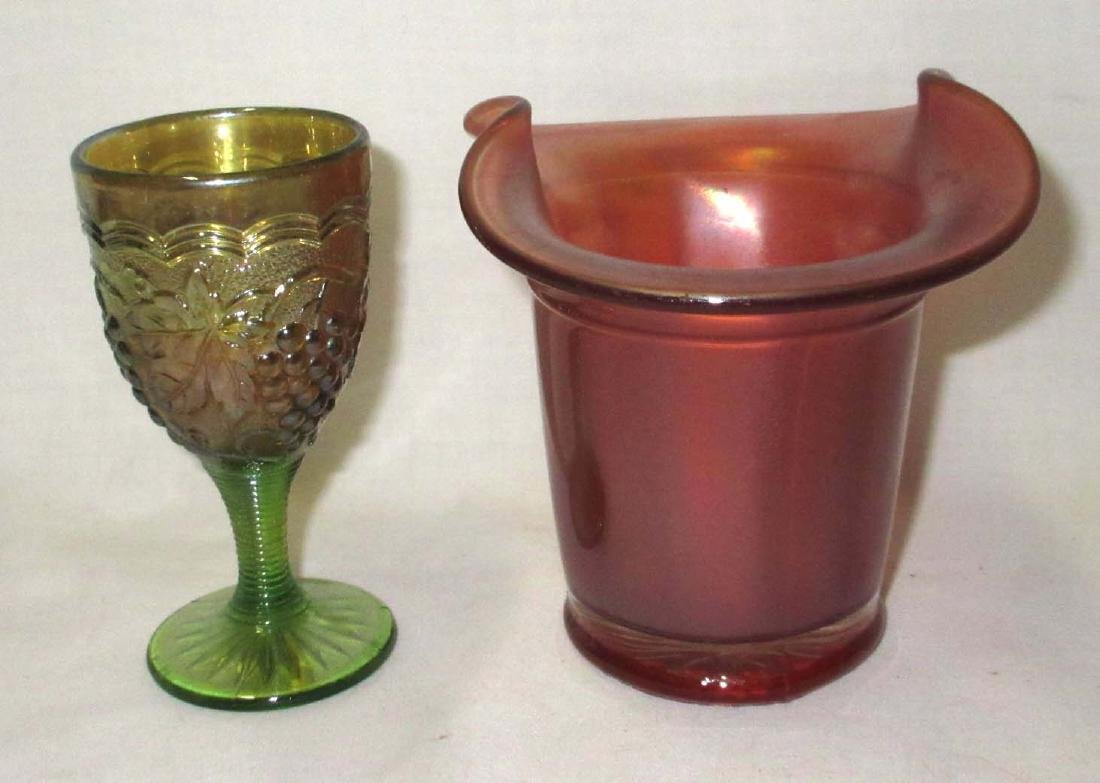 5pc Carnival Glass - 4
