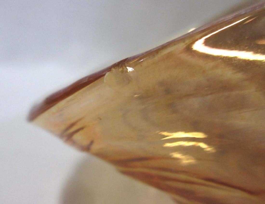 5pc Carnival Glass - 5