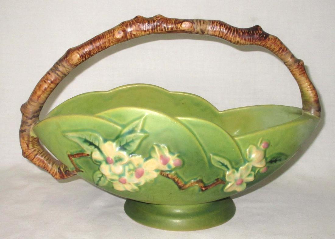 Roseville Pottery Basket 310-10
