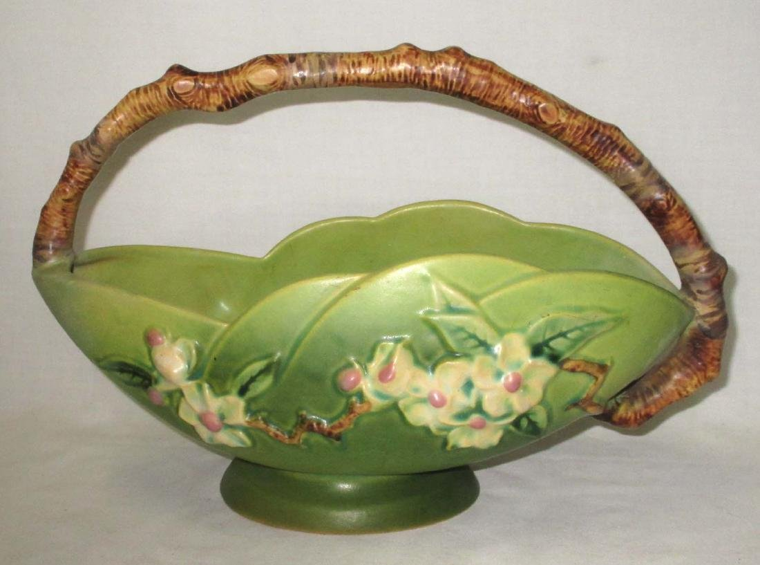 Roseville Pottery Basket 310-10 - 2
