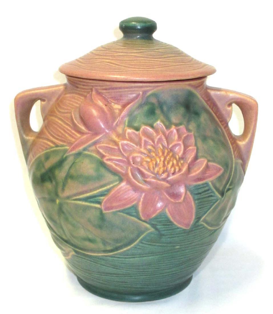 Roseville Pottery Cookie Jar 1-8