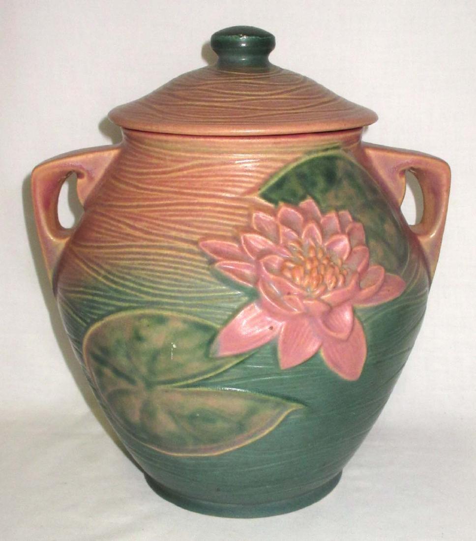 Roseville Pottery Cookie Jar 1-8 - 2