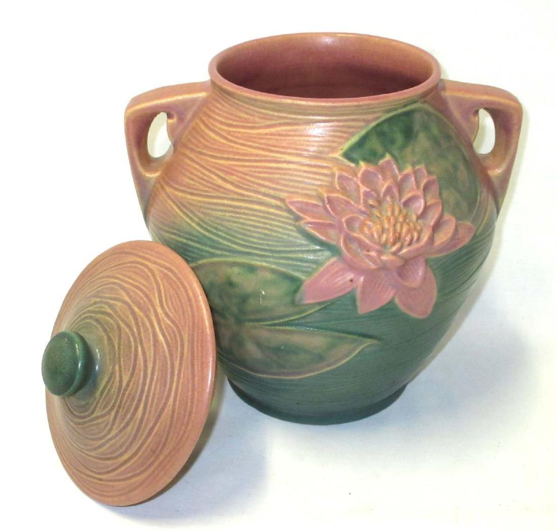 Roseville Pottery Cookie Jar 1-8 - 3
