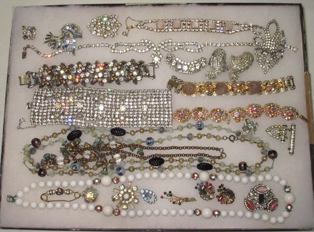 Lg Lot High End Jewelry for Harvest of Repair