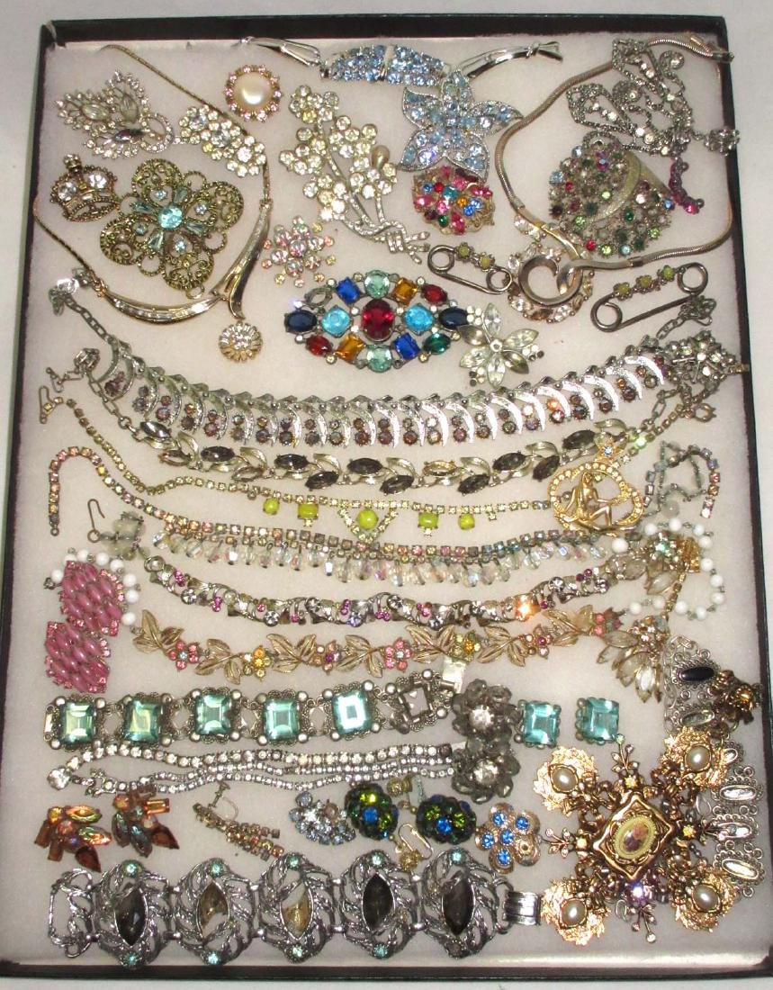 Lg Lot of Jewelry for Harvest or Repair