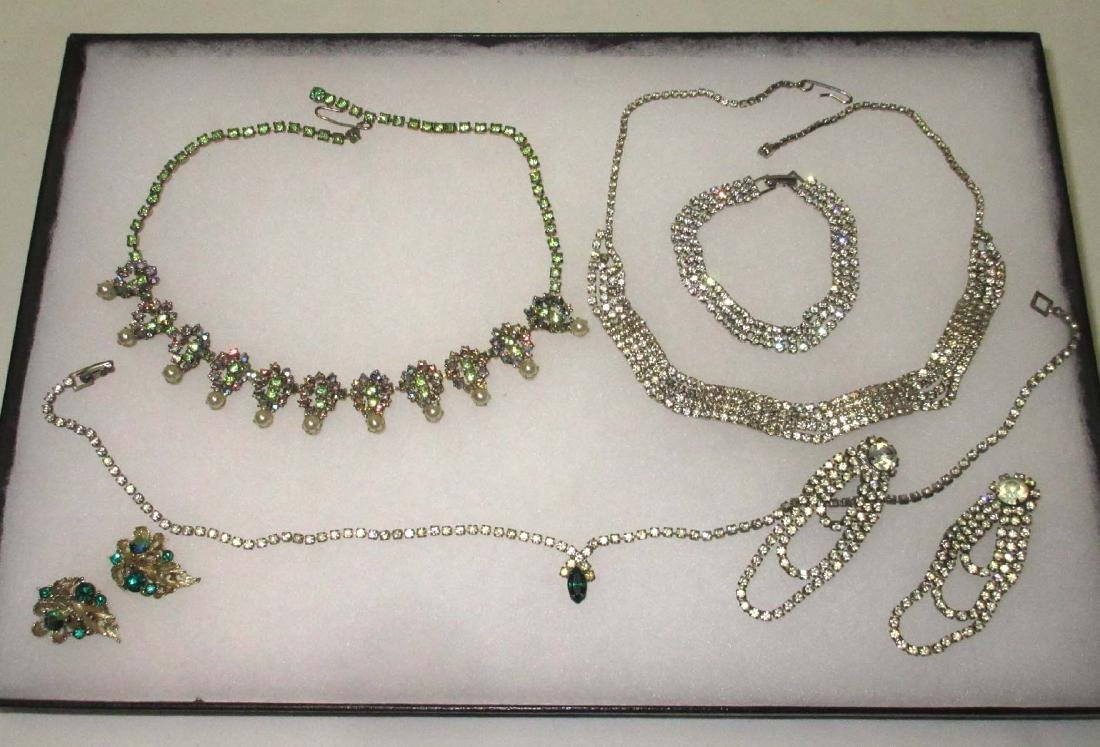 6 piece Delicate Petite Rhinestone Jewelry