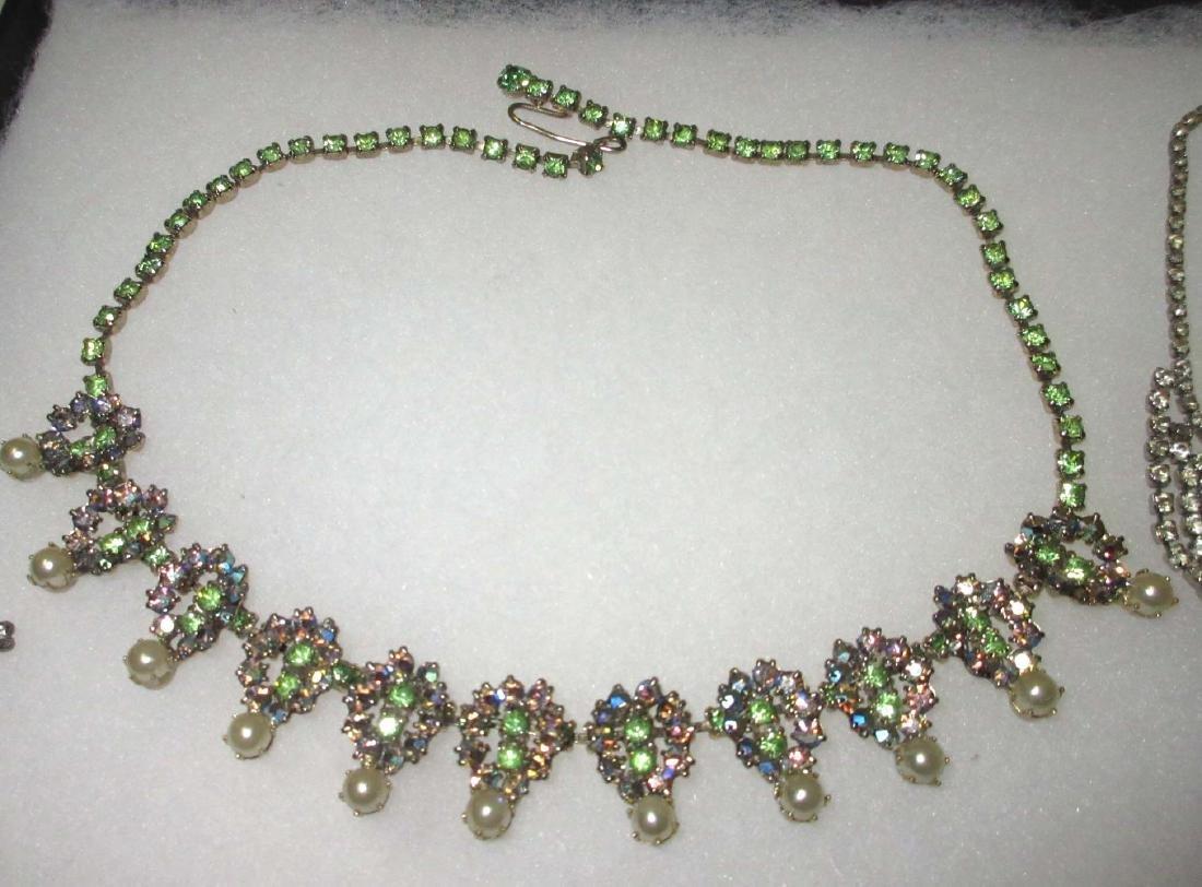 6 piece Delicate Petite Rhinestone Jewelry - 2