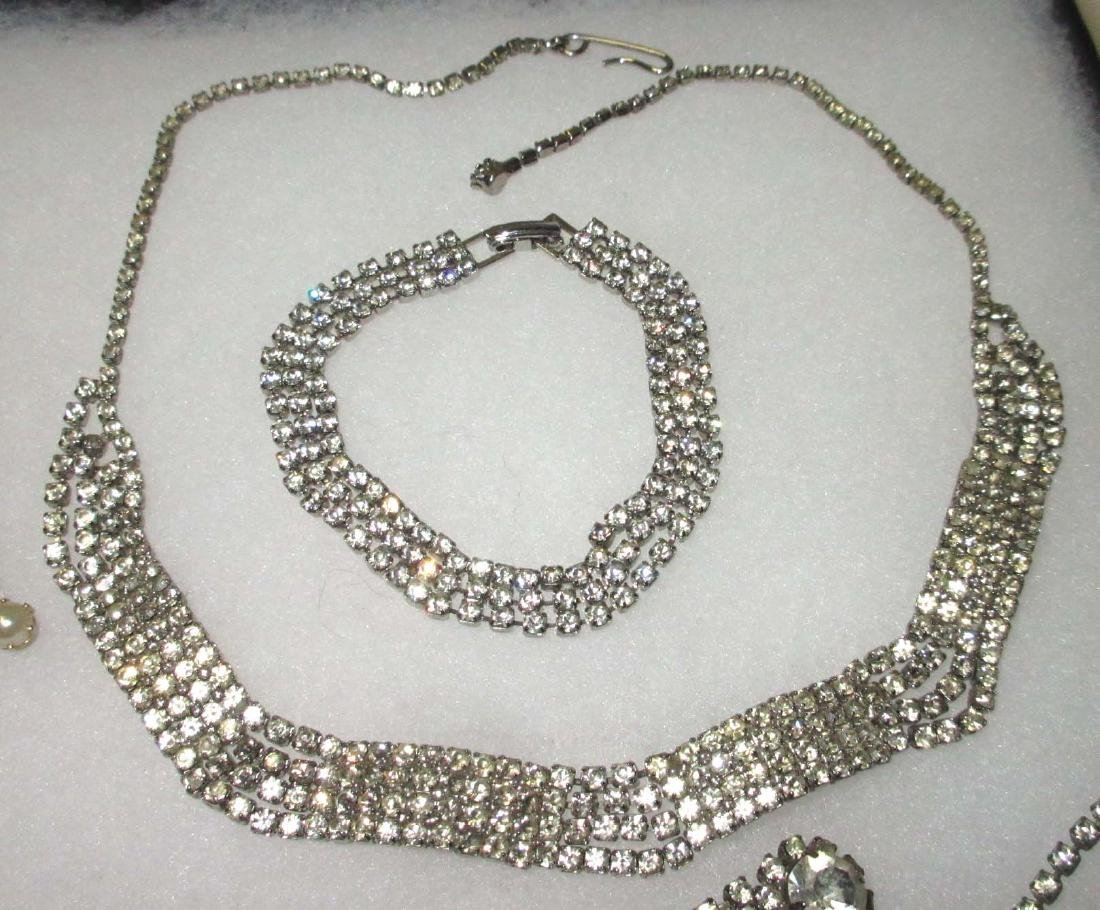 6 piece Delicate Petite Rhinestone Jewelry - 3