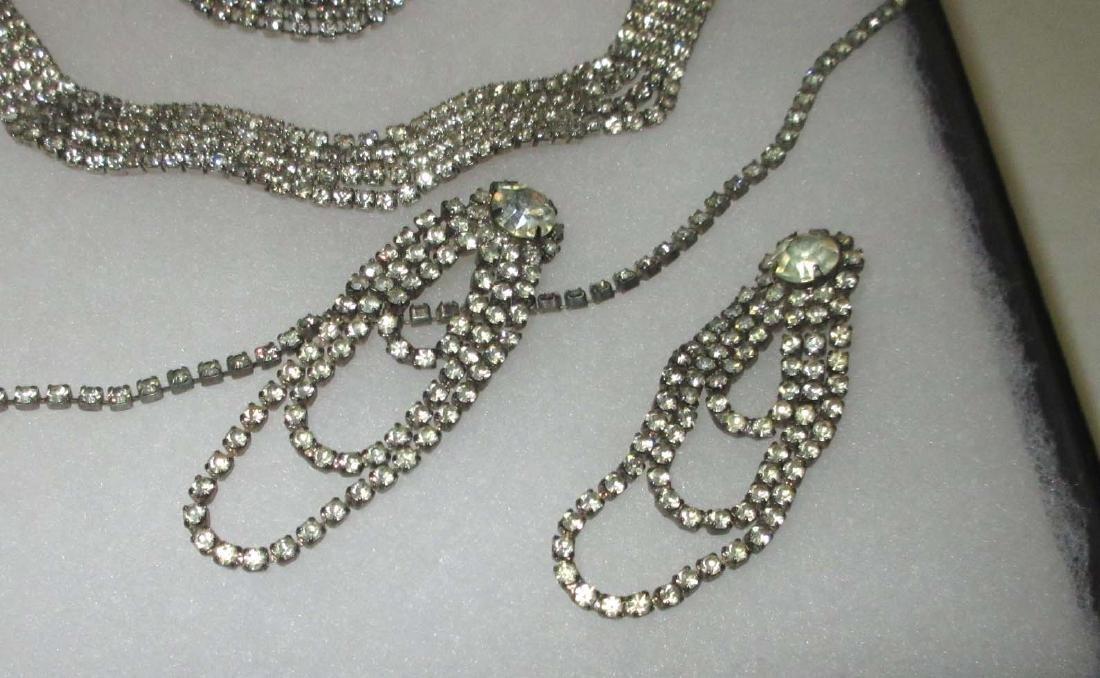 6 piece Delicate Petite Rhinestone Jewelry - 4